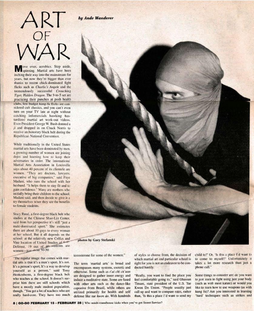Art of War: Martial Arts Growing in Popularity among women
