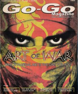 Art of War: Which Martial Art is Right for You? Magazine Cover
