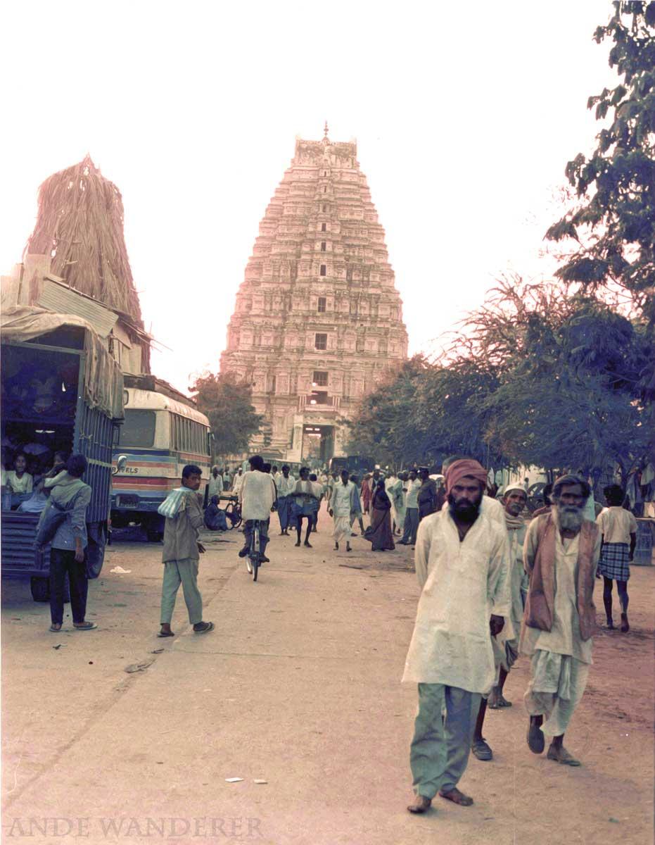 Virupaksha Temple, Hampi India