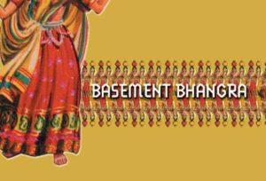 An old flyer for Basement Bhangra