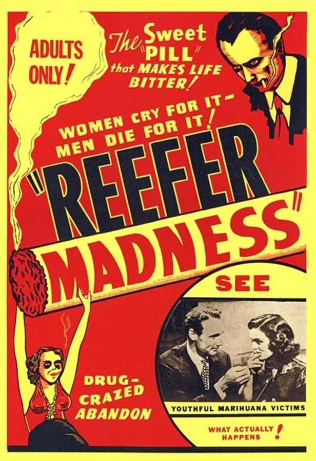 Reefer Madness Original Movie Poster